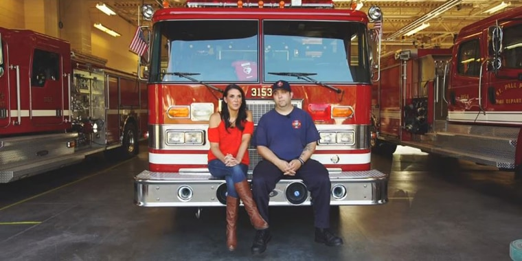 Firefighter leaves wedding to fight fire