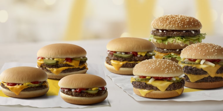New burgers at McDonald's