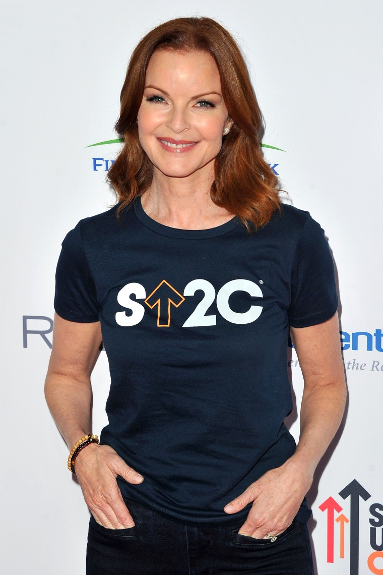 """Desperate Housewives"" star Marcia Cross opens up about cancer battle"