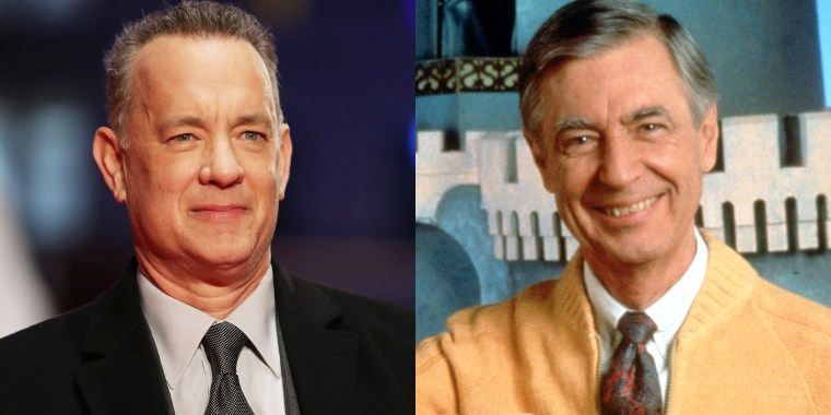 Tom Hanks and Mister Rogers