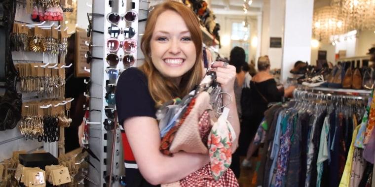 Budget thrift store shopping
