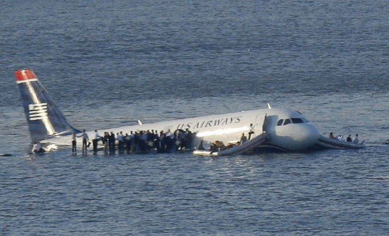 Plane crash miracle on Hudson River