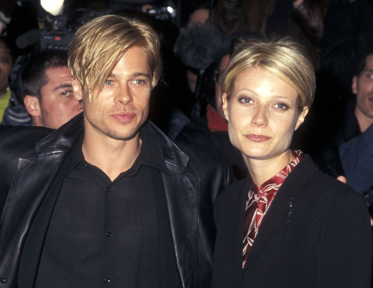 Brad Pitt, Gwyneth Paltrow haircut