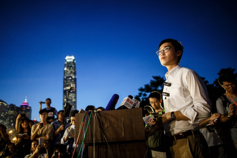 Image: Andy Chan is the leader of the pro-independence Hong Kong National Party