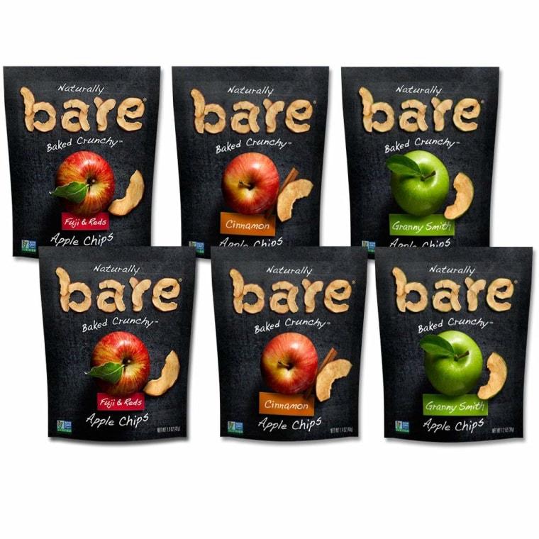 Bare Apple and Banana Chips