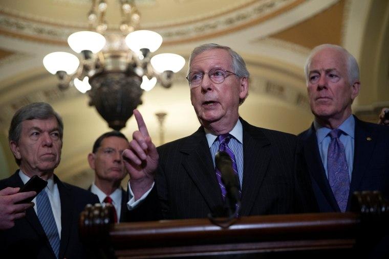 Image: Senate Majority Leader Mitch McConnell
