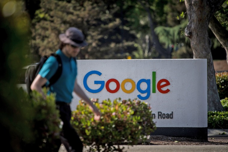 Google Inc. Campus As Company Aims At Privacy Law