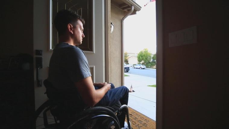 Jason McMillan was injured in the Las Vegas shooting last year