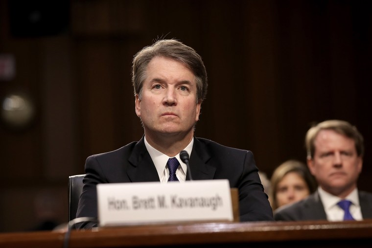 Image: Senate Holds Confirmation Hearing For Brett Kavanugh To Be Supreme Court Justice