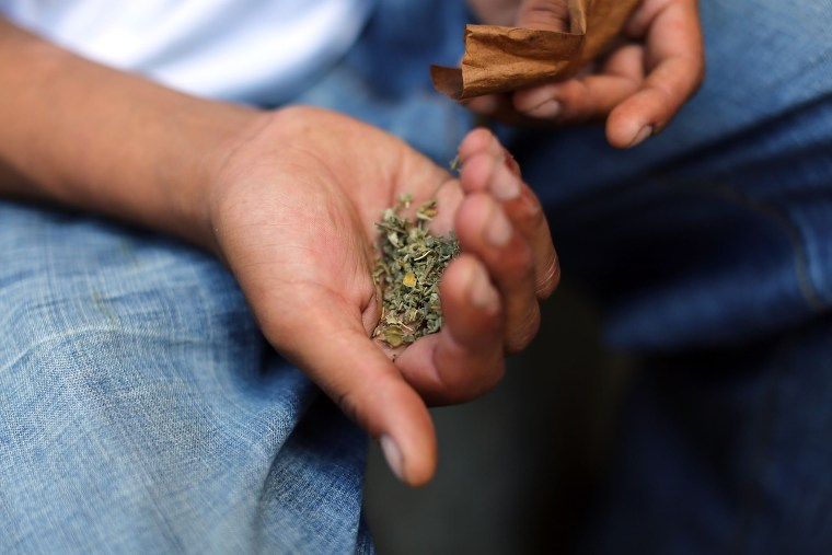 Image: Synthetic Marijuana, Or K2, Use On The Rise In New York City