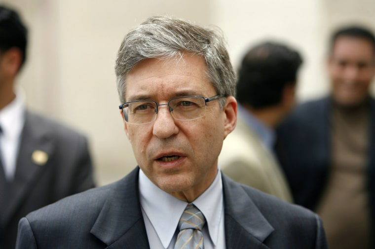 Image: Yossi Beilin in 2007