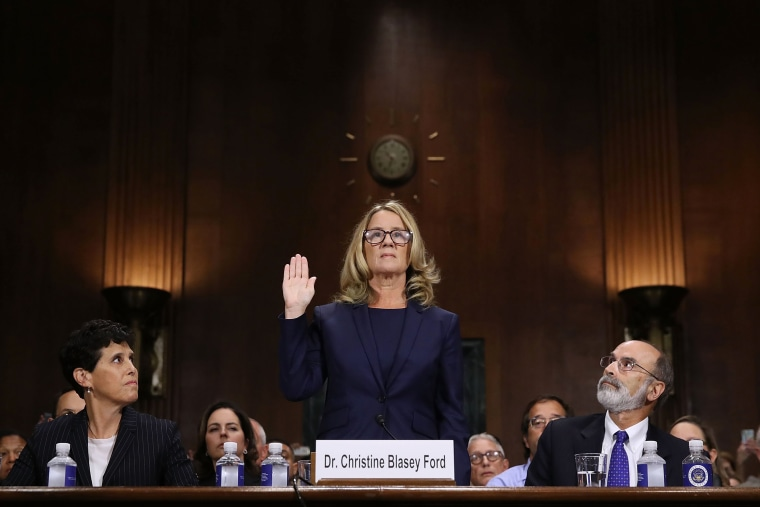 Christine Blasey Ford And Supreme Court Nominee Brett Kavanaugh Testify To Senate Judiciary Committee