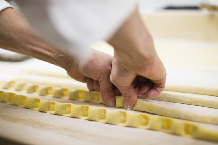Image: Roberto Fernandez makes ravioli from scratch