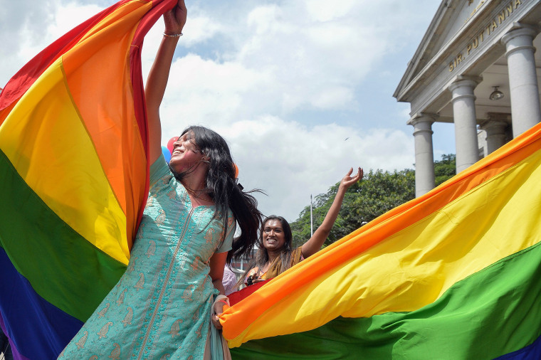 Image: LGBT community India