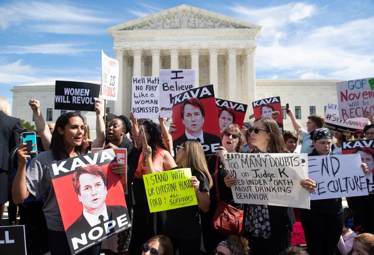 Image: US-COURT-POLITICS-ASSAULT-PROTEST
