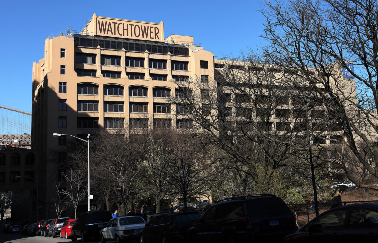 Jehovah's Witnesses World Headquarters in Brooklyn, New York on April 15, 2016.
