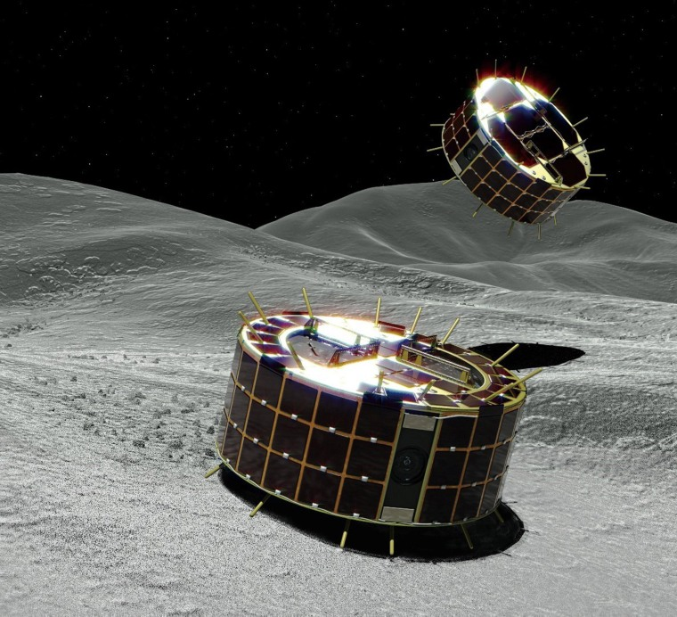 Image: Hayabusa-2 spacecraft dispatches asteroid probes - JAXA