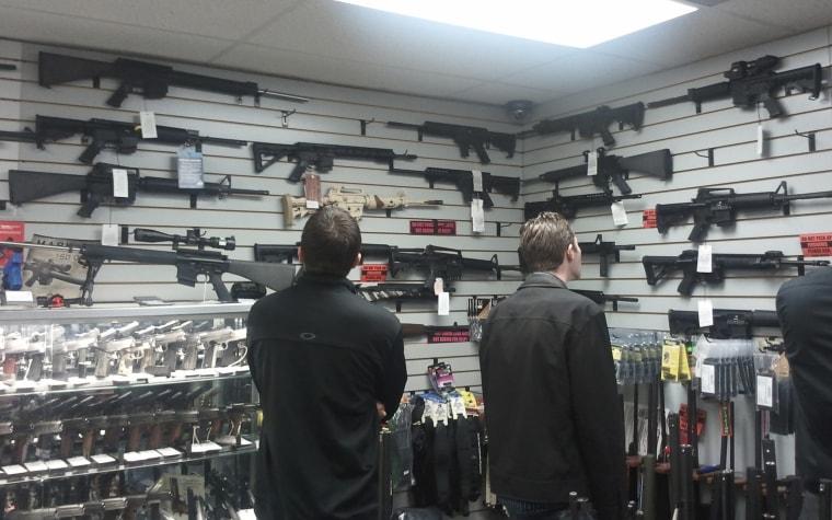 Image: California gun shop