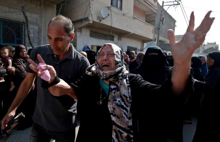 Image: Israel-Gaza protest