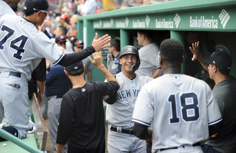 Image: MLB: New York Yankees at Boston Red Sox