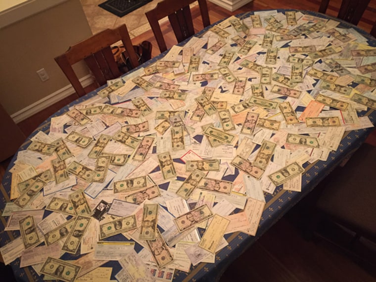 After Joey's passing, money and cards poured in through the mail.