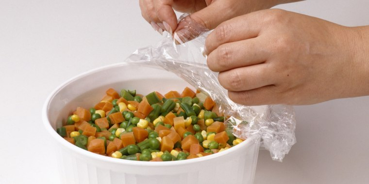 how to store plastic wrap