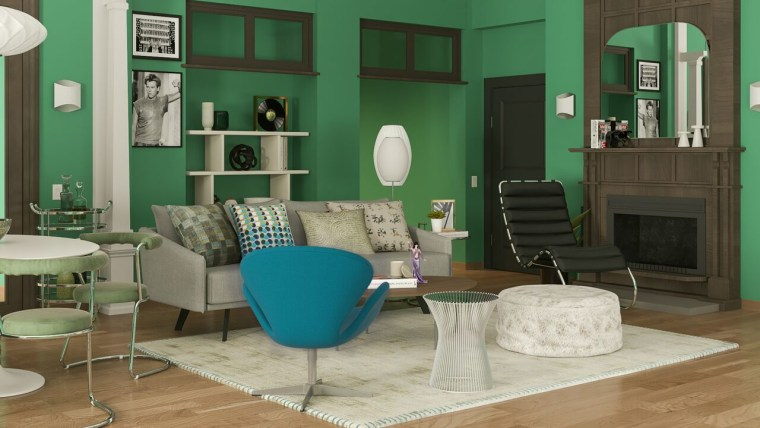 Will and Grace apartment Modsy