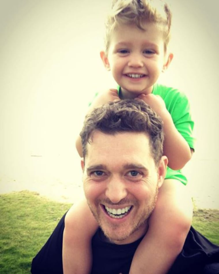 Michael Buble speaks candidly about how he and his wife dealt with son's illness