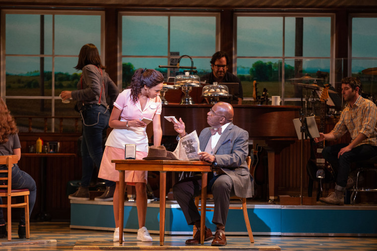 "Al Roker in 'Waitress"" on Broadway"