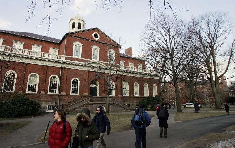 Image: Harvard University Campus