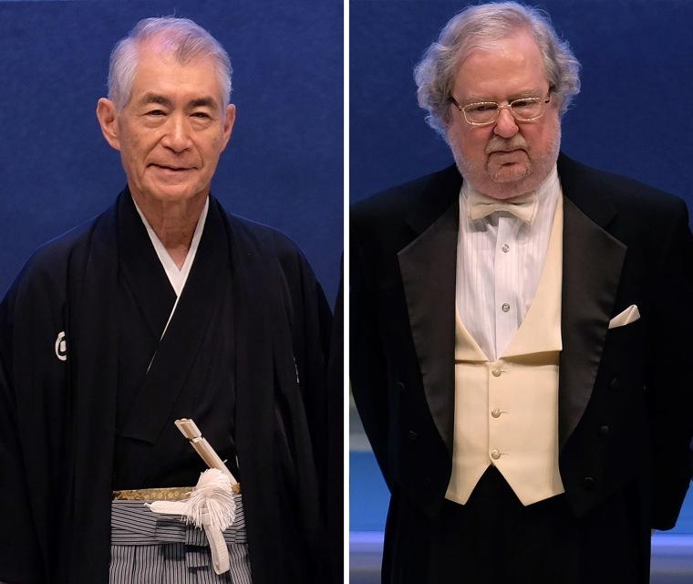 Image: Tasuku Honjo of Japan and James P Allison of the U.S.have won the 2018 Nobel Medicine Prize