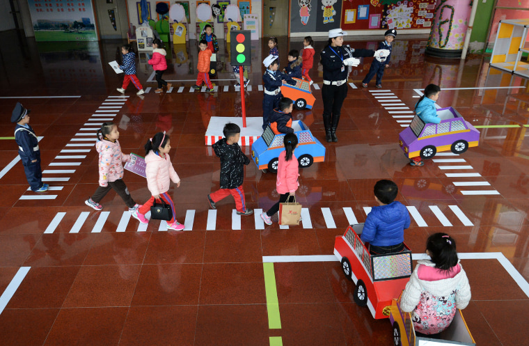 Image: China kindergarten