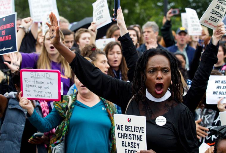 Image: Breet Kavanaugh Protests