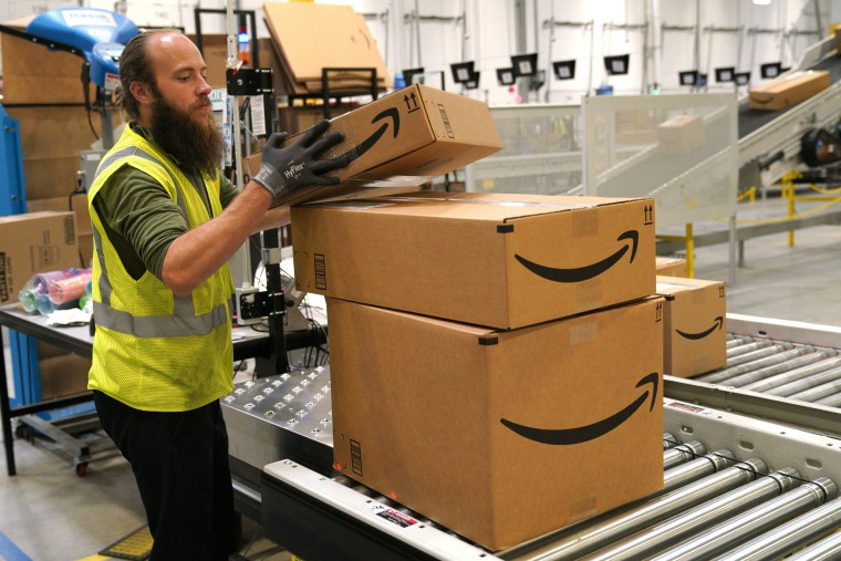 Image: Amazon Opens New Fulfillment Center In Aurora, Colorado
