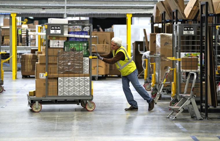 Image: FILE: Amazon Raises It's Minimum Wage To $15/hour