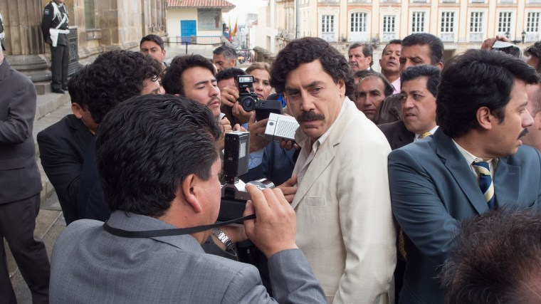 Javier Bardem is Pablo Escobar in the new movie 'Loving Pablo'.