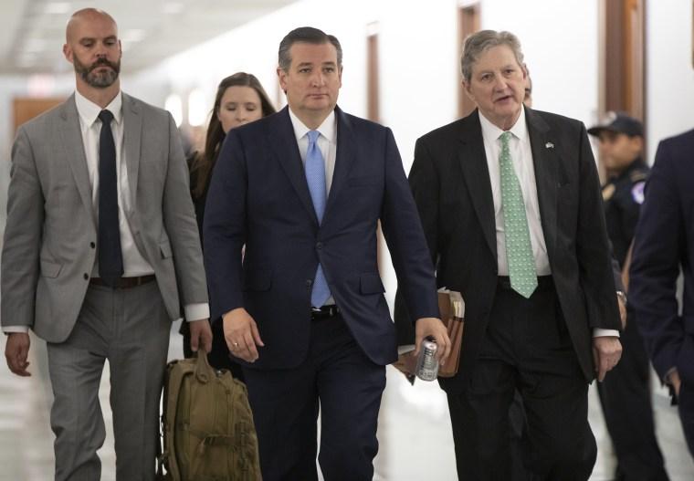 Image: Ted Cruz, John Kennedy