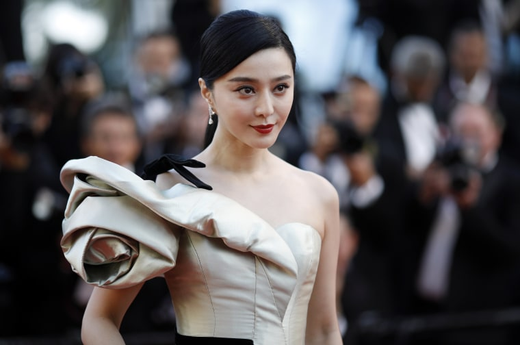 Image: Fan Bingbing at the Cannes Film Festival on May 11
