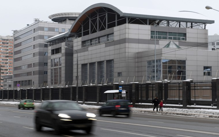 Image: The GRU's headquarters in Moscow