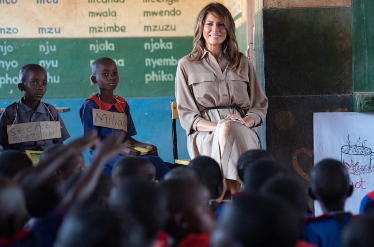 Image: Melania Trump Malawi visit