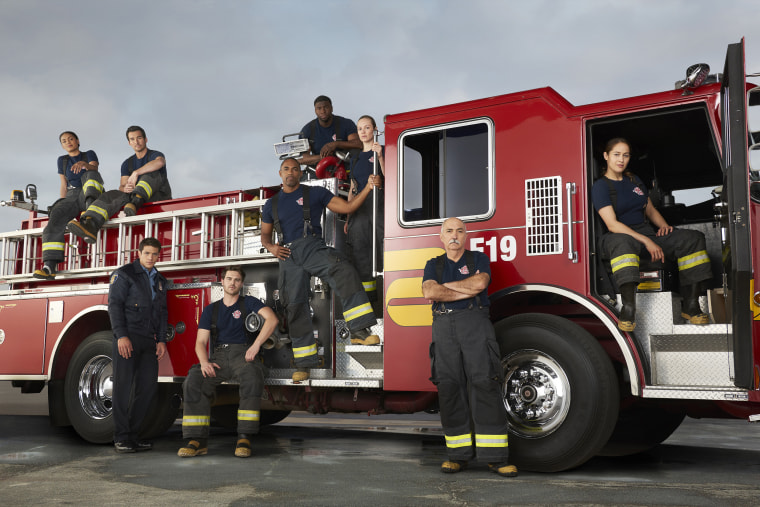 "The ""Station 19"" crew."
