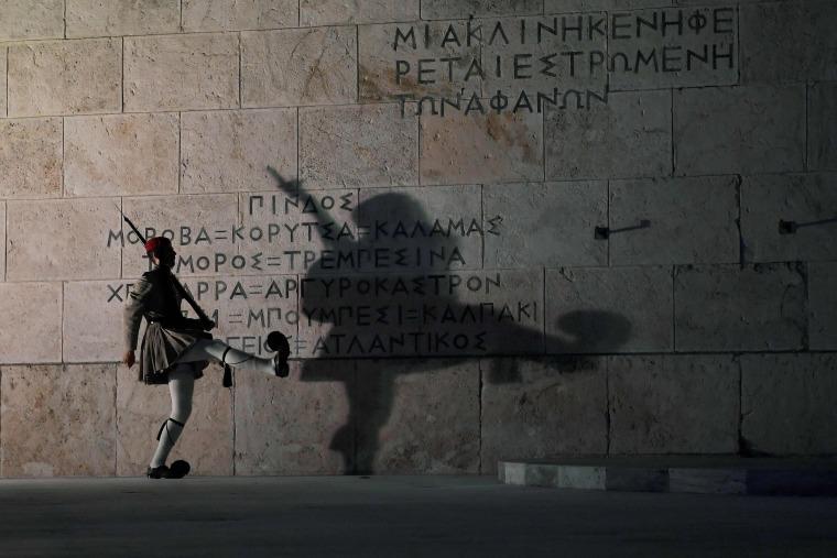 Image: TOPSHOT-GREECE-TOURISM-ARMY