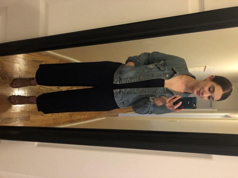 Look #7: My clothes, styled a completely different way