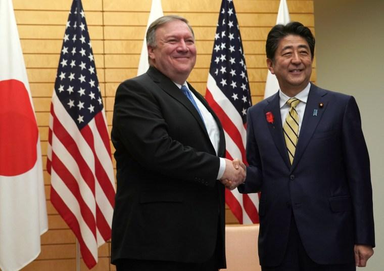 Image: Mike Pompeo visits Japan