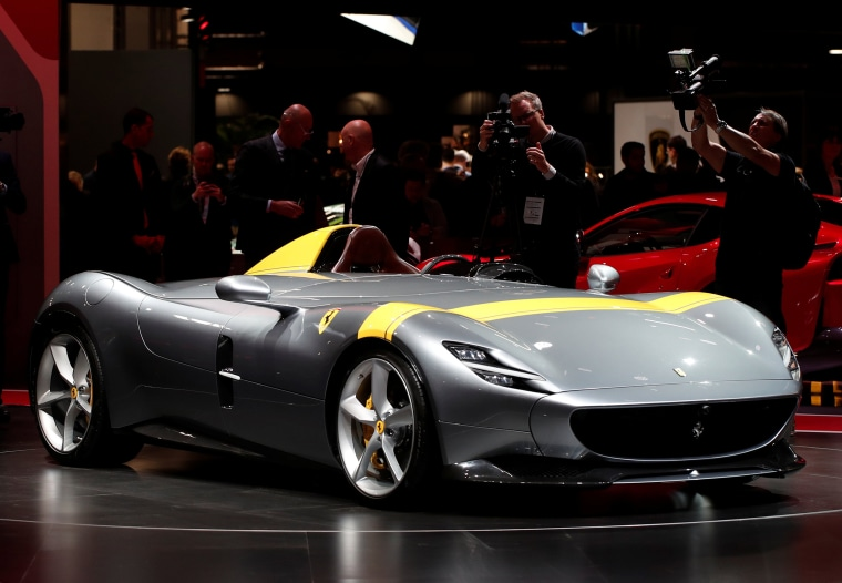 Would you ride in a Ferrari with no windshield?