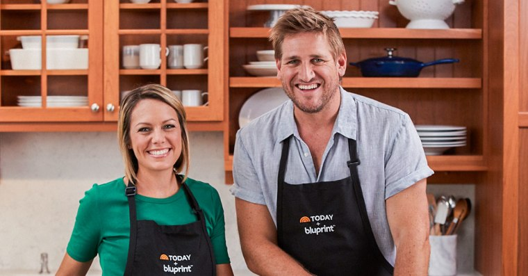 """Curtis Stone and Dylan Dreyer teach """"Weeknight Cooking"""" class on Bluprint"""