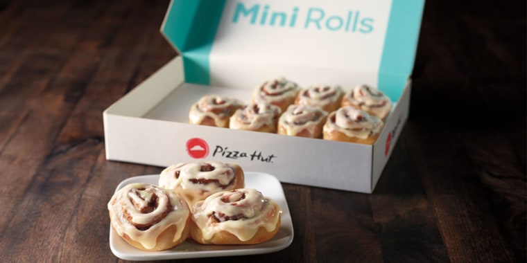 People Are Freaking Out That Pizza Hut Added Cinnabons To