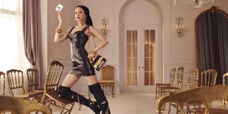 Gigi Hadid Moschino H&M collaboration, H&M and Moschino collection, Gigi Hadid