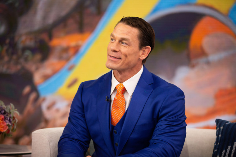 John Cena talks about his new haircut