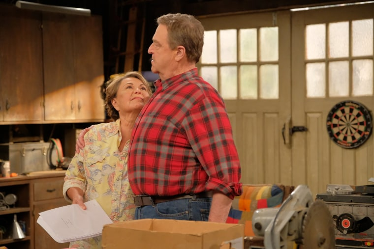 "John Goodman made last night on Jimmy Kimmel's show about his having a difficult time after his co-star Roseanne Barr was fired from ""Roseanne."""